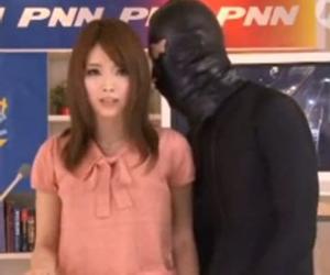 加藤リナに付きまとう黒タイツの男に色々な場所で犯される